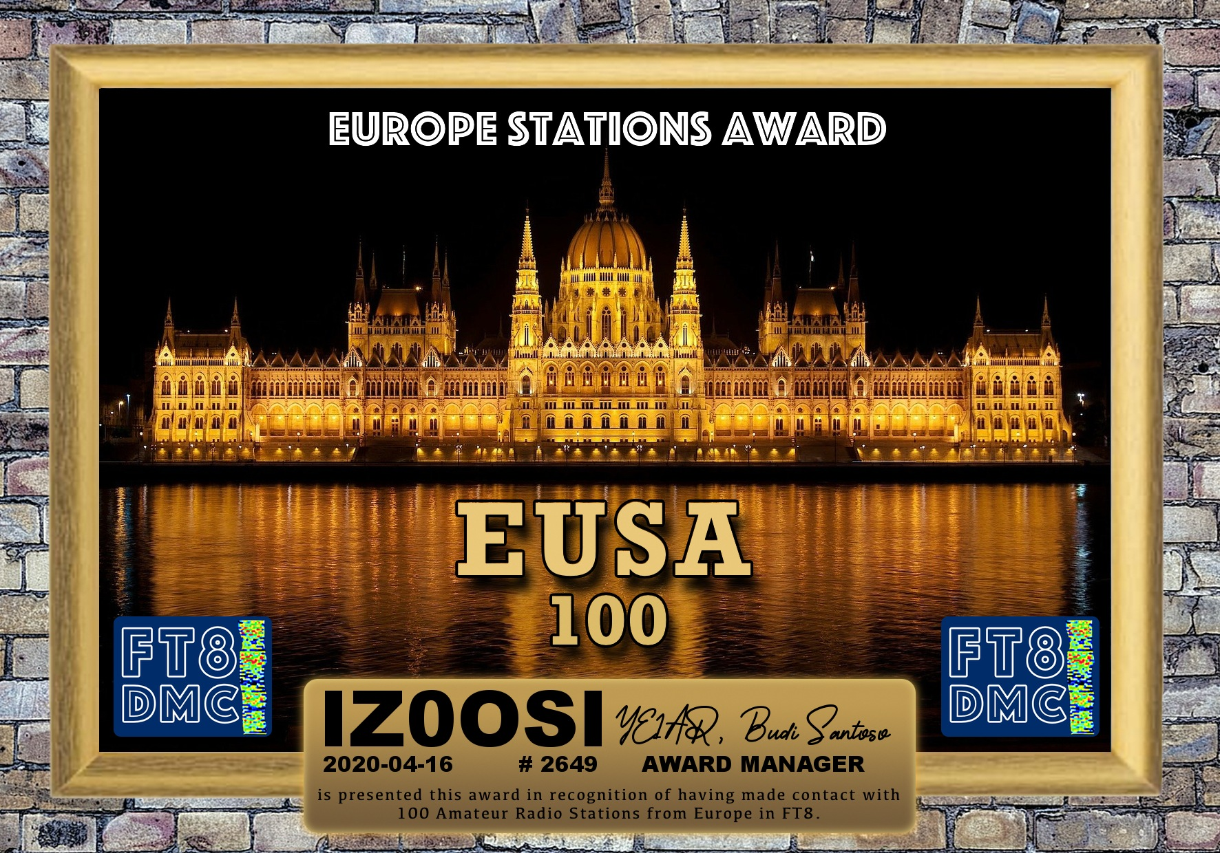 IZ0OSI-EUSA-100_FT8DMC