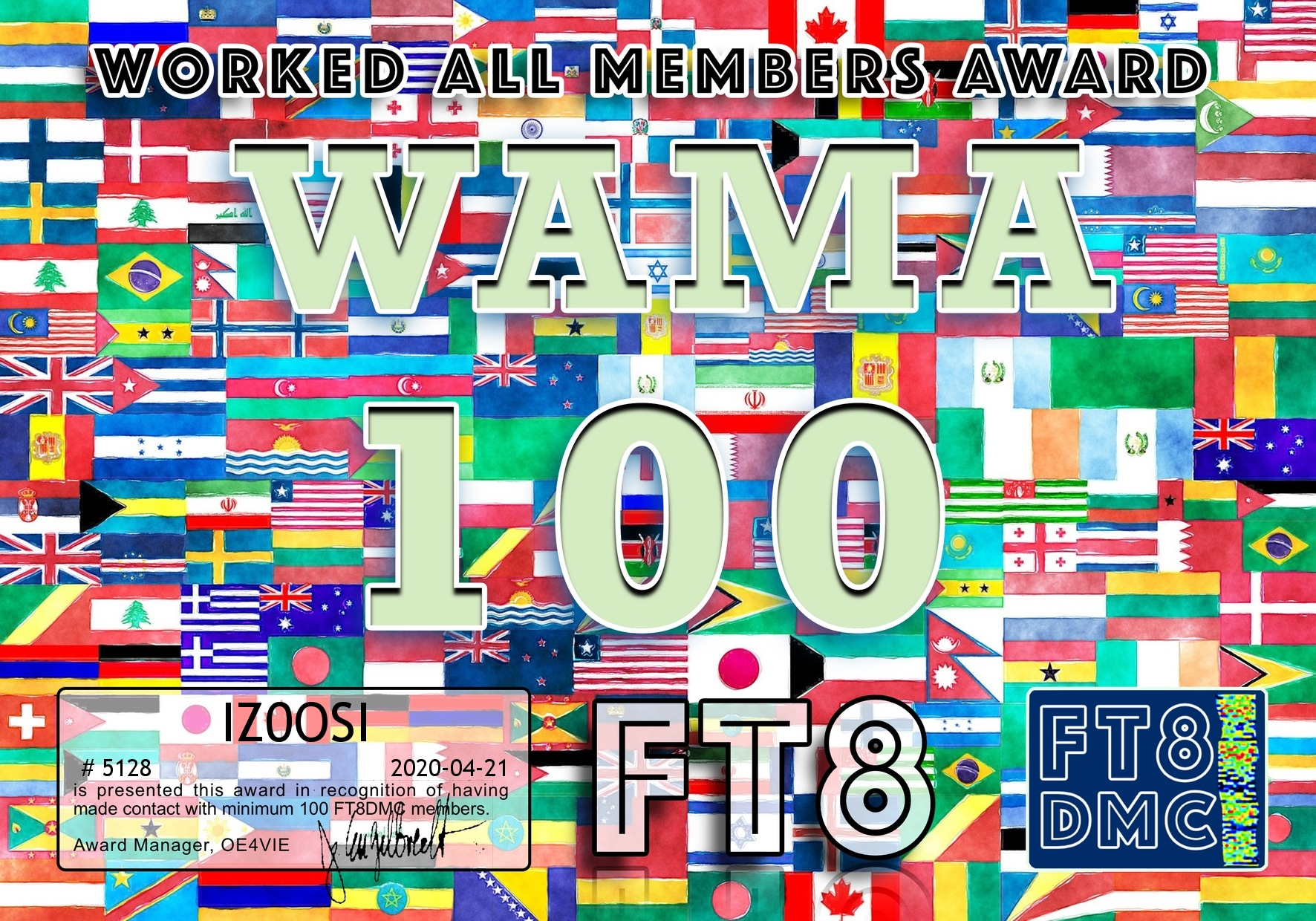 IZ0OSI-WAMA-100_FT8DMC